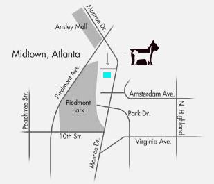 Ansley Animal Clnic - Map
