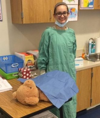 Teddy Bear Surgery for school science night